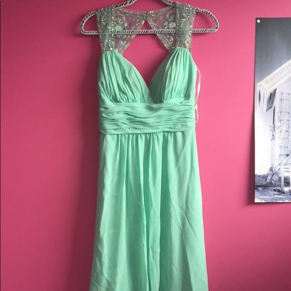Dresses | Mint Green Prom Dress | Poshmark